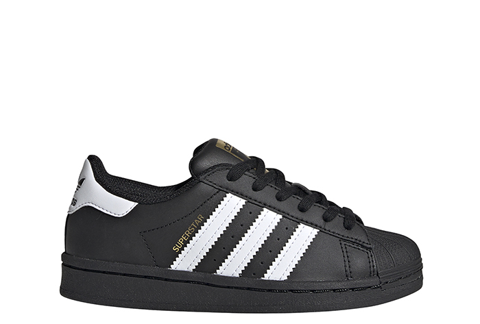 Adidas Youth Superstar Core Black / Cloud White / Core Black