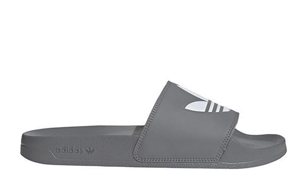 Adidas Originals Adilette Lite Slides Grey Three / Cloud White