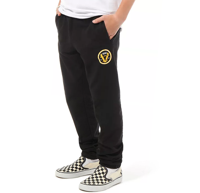 Vans Youth Old Skool V Fleece Pants Black