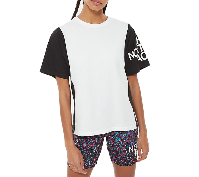 The North Face Womens Block Sesh Tee TNF White