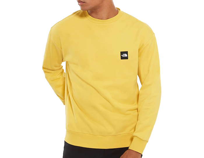 The North Face Masters Of Stone Crew Bamboo Yellow