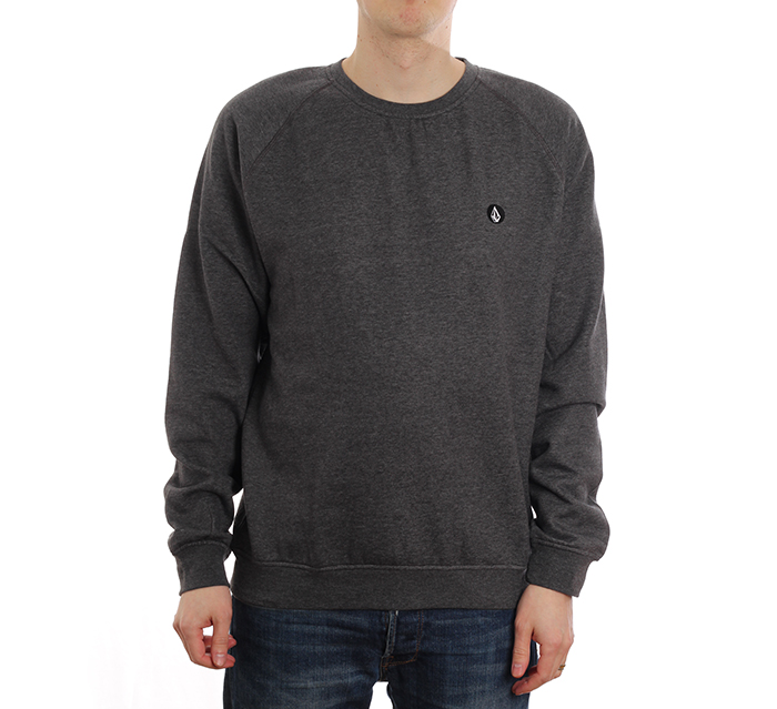Volcom Timesoft Crew Sweater Black