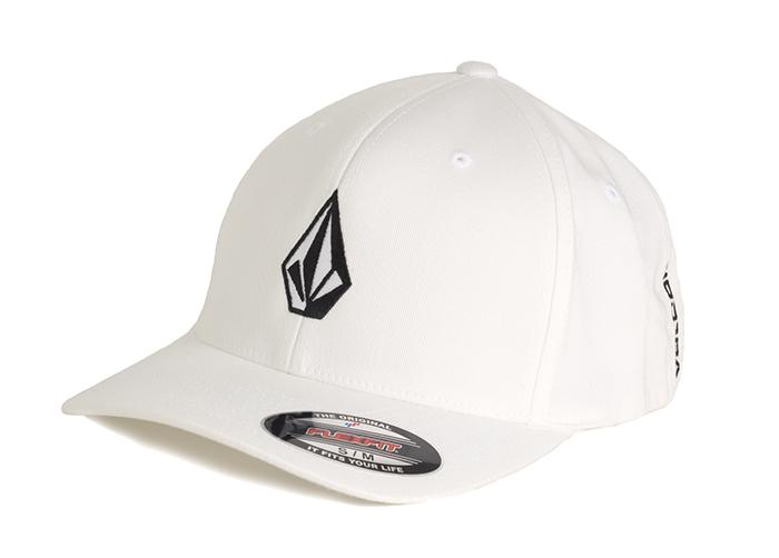 Volcom Full Stone XFit Cap White