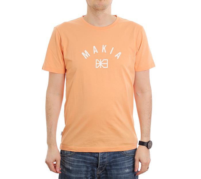 Makia Brand T-Shirt Peach