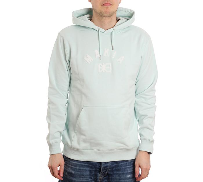 Makia Brand Hooded Sweatshirt Mint