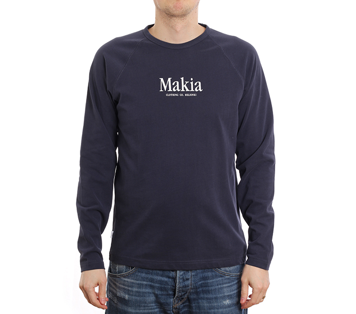 Makia Strait Long Sleeve Dark Blue