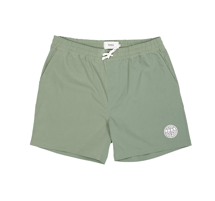 Makia Scope Hybrid Shorts Olive