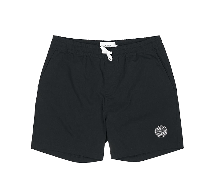 Makia Scope Hybrid Shorts Black