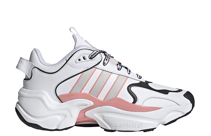 Adidas Womens Magmur Runner Cloud White / Grey One / Glory Pink