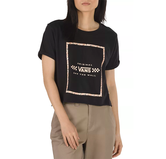 Vans Womens Leila Tee Black
