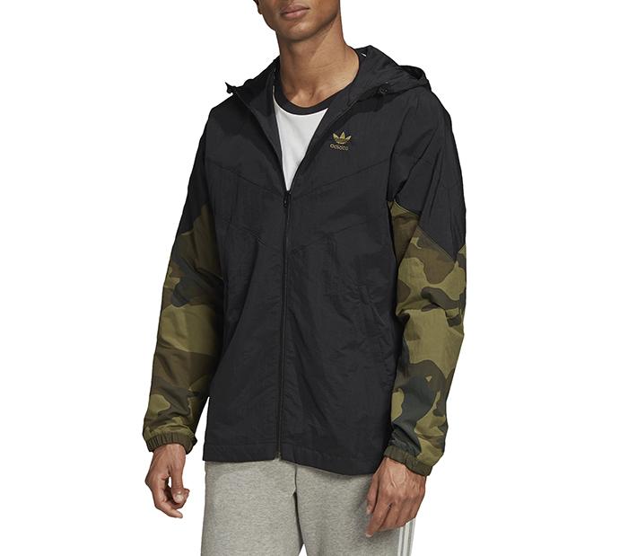 Adidas Originals Big Trefoil Track Jacket Black Boardvillage