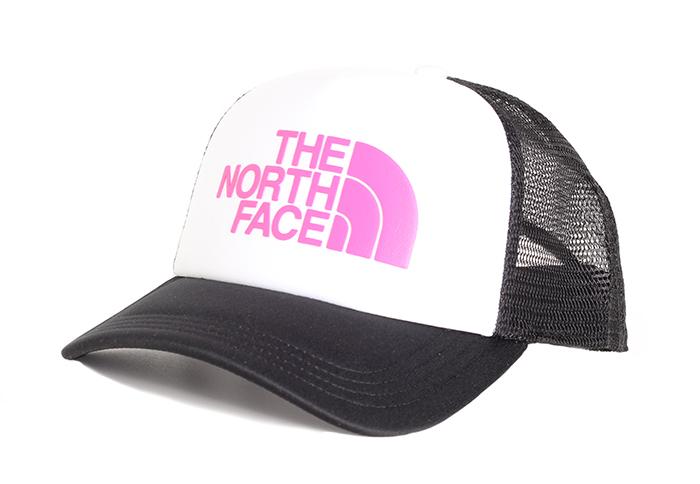 The North Face TNF Logo Trucker TNF White / Mr. Pink