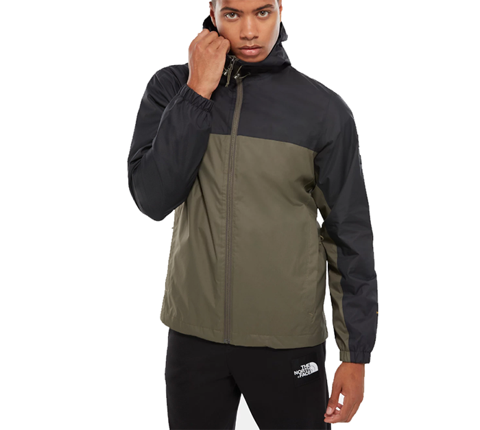The North Face Mountain Q Jacket New Taupe Green / TNF Black