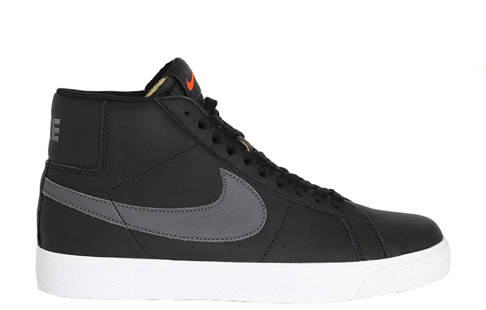 Nike SB Zoom Blazer Mid ISO Black / Dark Grey - Black - White