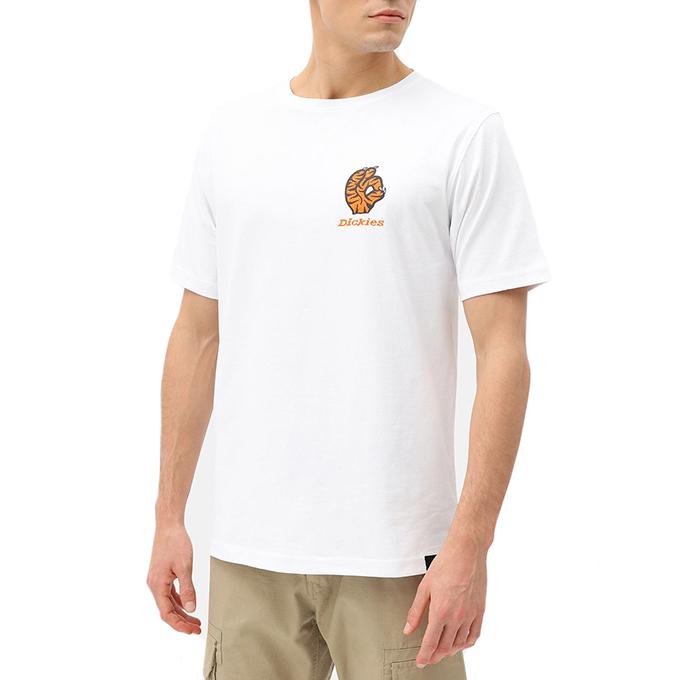 Dickies Schriever Tiger T-Shirt White