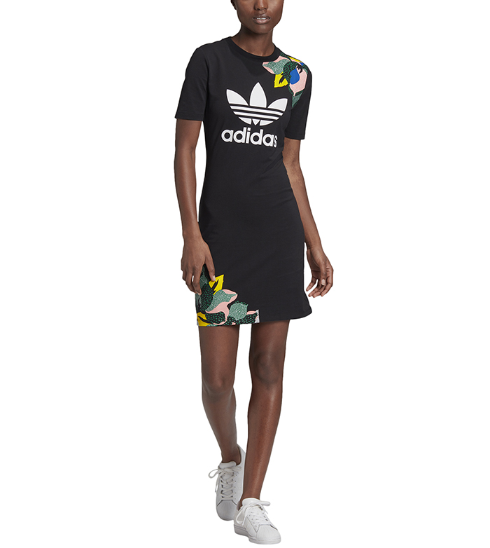 Adidas Originals Womens HER Studio London Tee Dress Black
