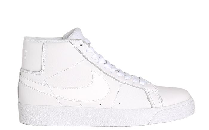 Nike SB Blazer Mid White / White - White