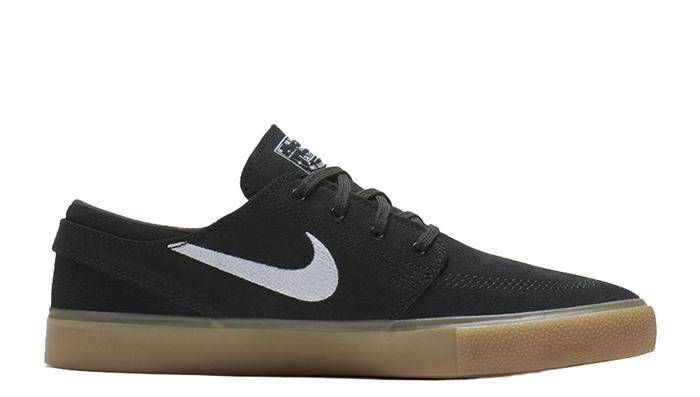 Nike SB Zoom Janoski RM Black / White - Black - Gum Light Brown