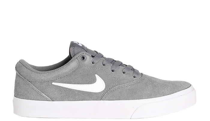 Nike SB Charge Suede Cool Grey / White