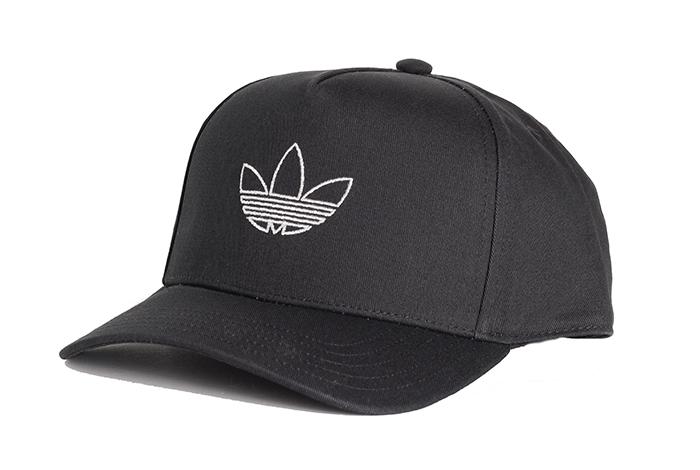 Adidas Originals Outline Trefoil Trucker Cap Black / Black Reflective