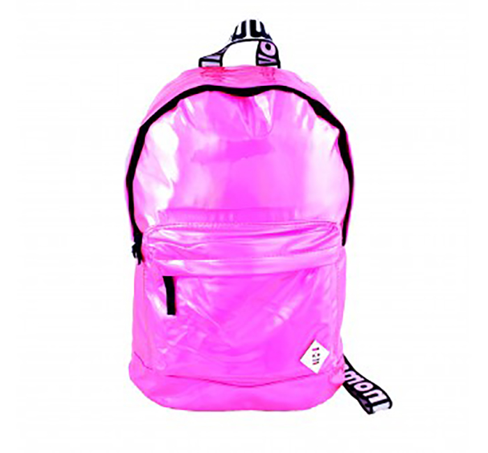 """Monmon """"The Foil One"""" Backpack Pink"""