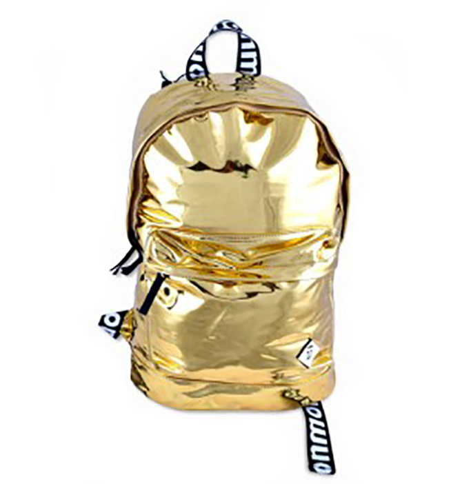 """Monmon """"The Foil One"""" Backpack Gold"""