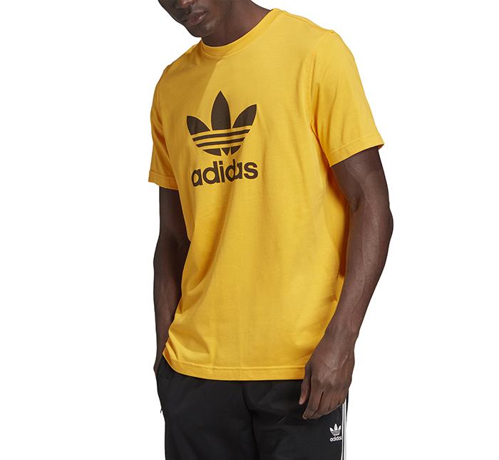 Adidas Originals Trefoil Tee Active Gold