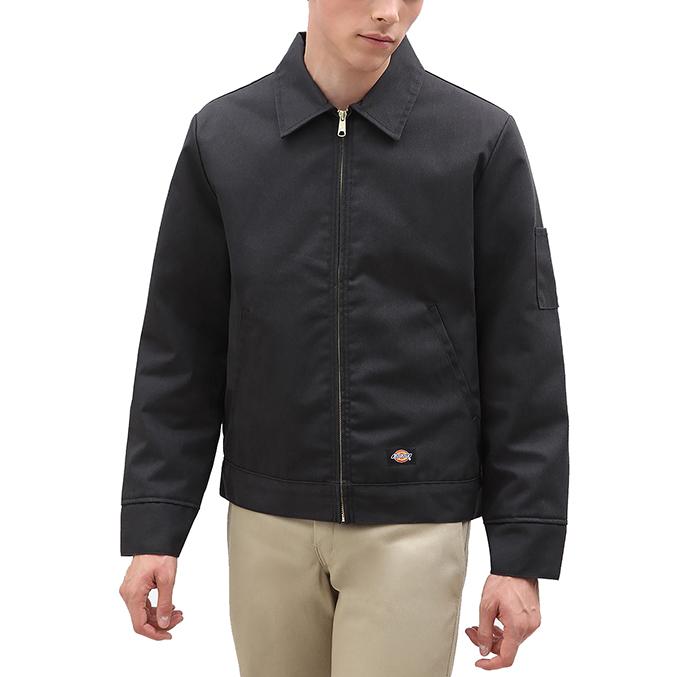 Dickies Lined Eisenhower Jacket Black
