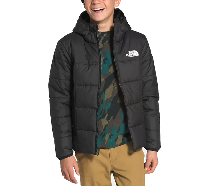 The North Face Youth Reversible Perrito Jacket TNF Black