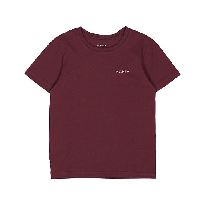 Makia Kids Trim T-Shirt Port