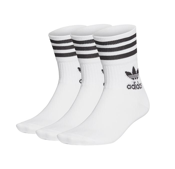 Adidas Originals Mid Cut Crew Socks White / Black