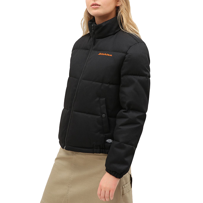 Dickies Womens Rodessa Puffa Jacket Black