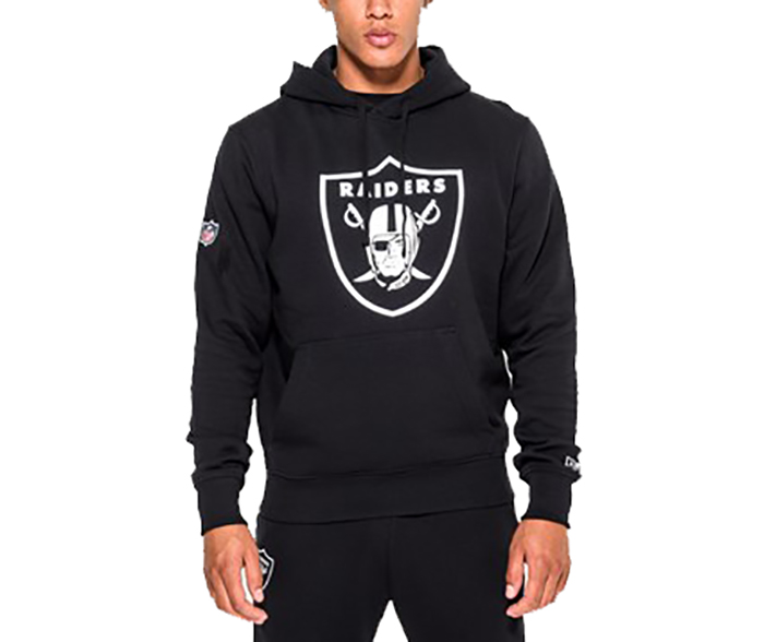 New Era Oakland Raiders Team Logo Hoodie Black