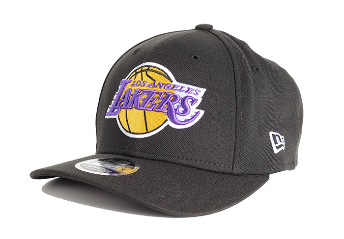 New Era Los Angeles Lakers 9Fifty Stretch Snapback Black