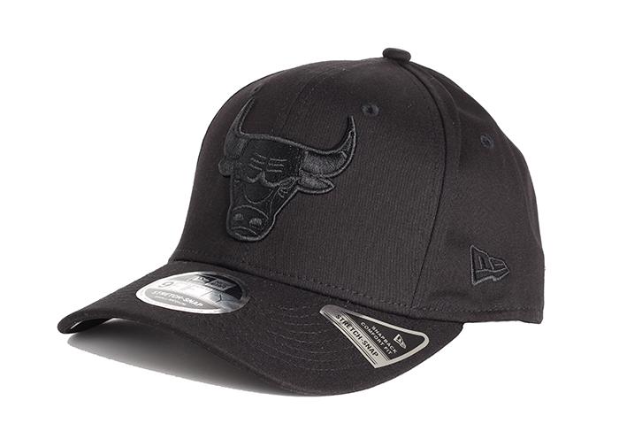 New Era Chicago Bulls 9Fifty Stretch Snapback Black