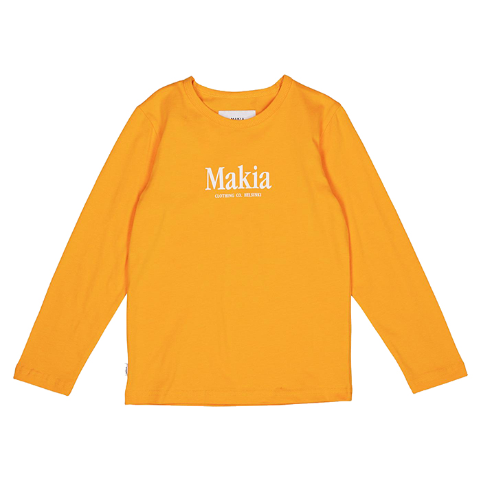 Makia Kids Strait Long Sleeve Warm Yellow
