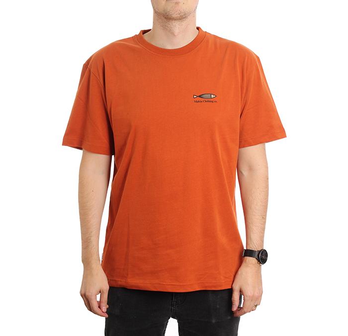 Makia Fiskari T-Shirt Copper