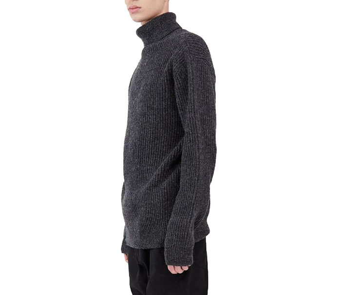 Makia Isle Knit Dark Grey