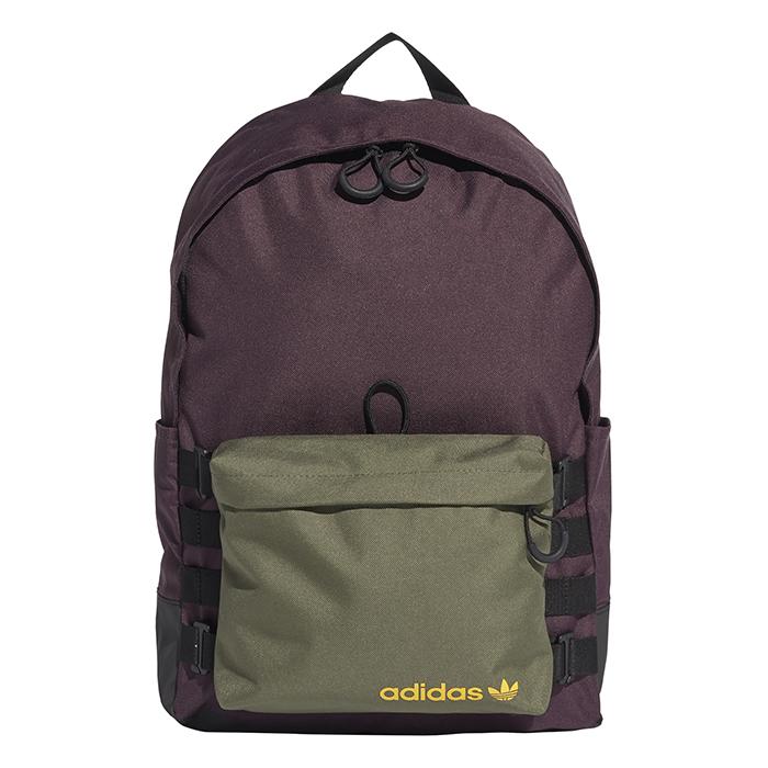 Adidas Originals Premium Essentials Modular Backpack Mineral Red / Base Green