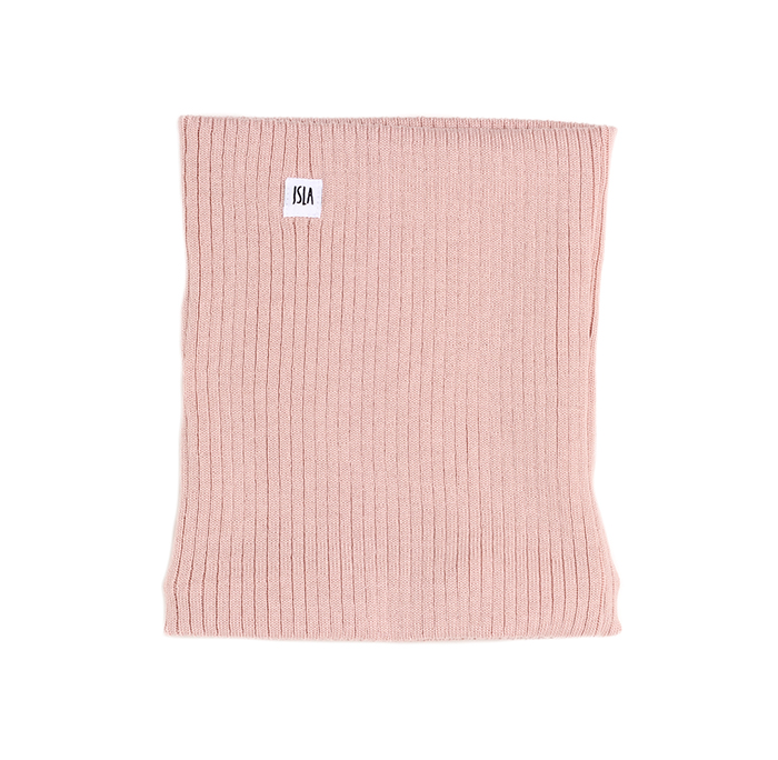ISLA Merino Scarf Blush Pink