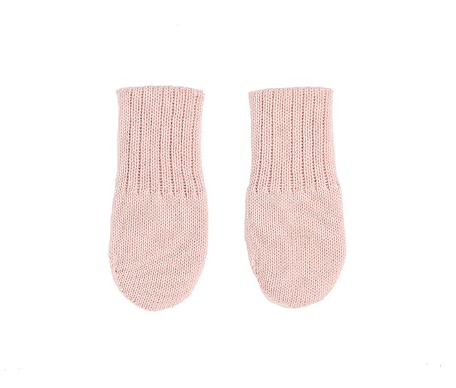 ISLA Merino Baby Mittens Blush Pink