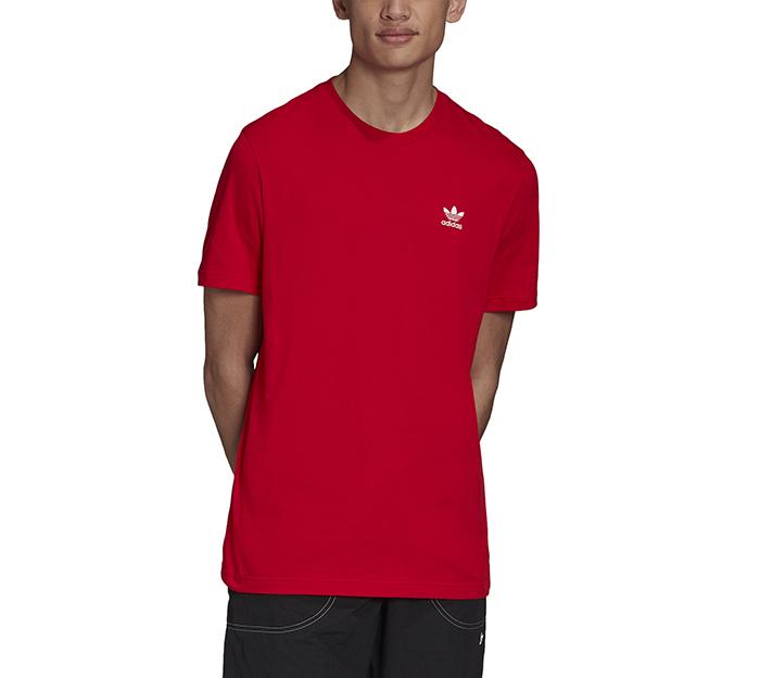 Adidas Originals Trefoil Essentials Tee Scarlet