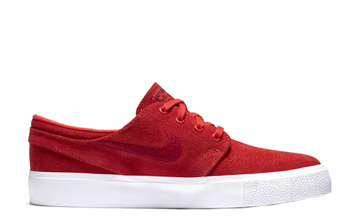 Nike SB Janoski Youth Chile Red / Cardinal Red - White