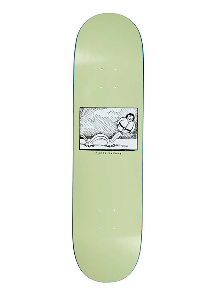 Polar Skate Co. HJALTE HALBERG - Bounce Light Green 8.375