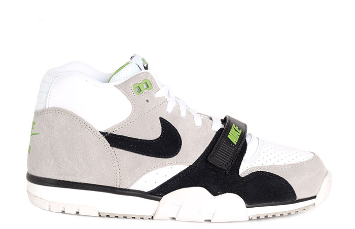 Nike SB Air Trainer 1 Medium Grey / Black - White - Chlorophyll
