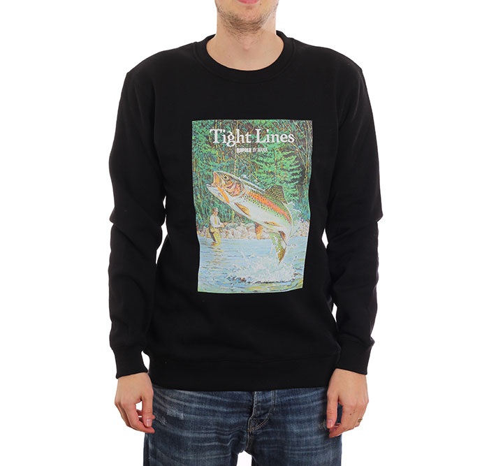Makia x Rapala Kneedeep Sweatshirt Black
