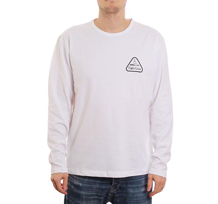 Makia x Rapala Pioneer Long Sleeve White