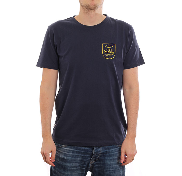 Makia x Rapala Angler T-Shirt Dark Blue