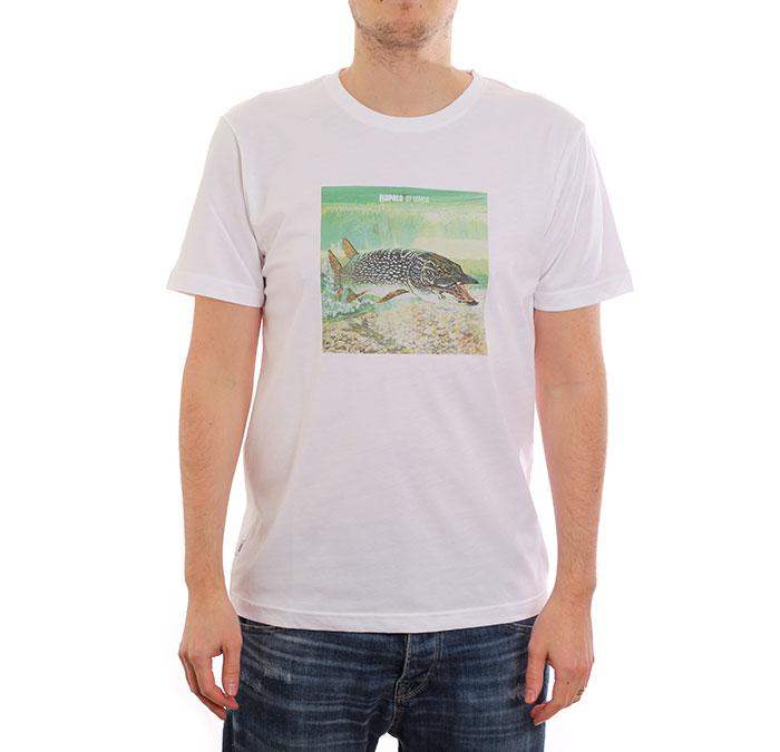 Makia x Rapala Hunt T-Shirt White