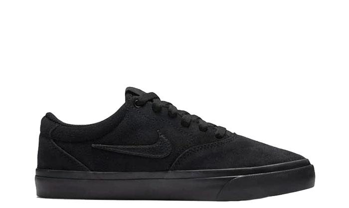 Nike SB Charge Suede Youth Black / Black / Black